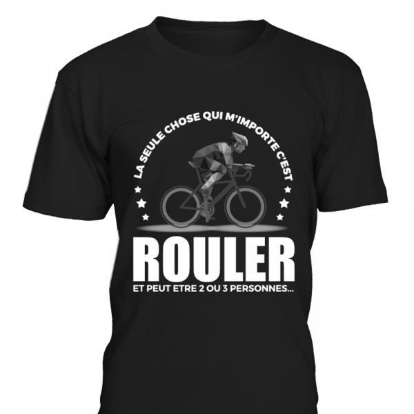 T-shirt Homme Passion Vélo