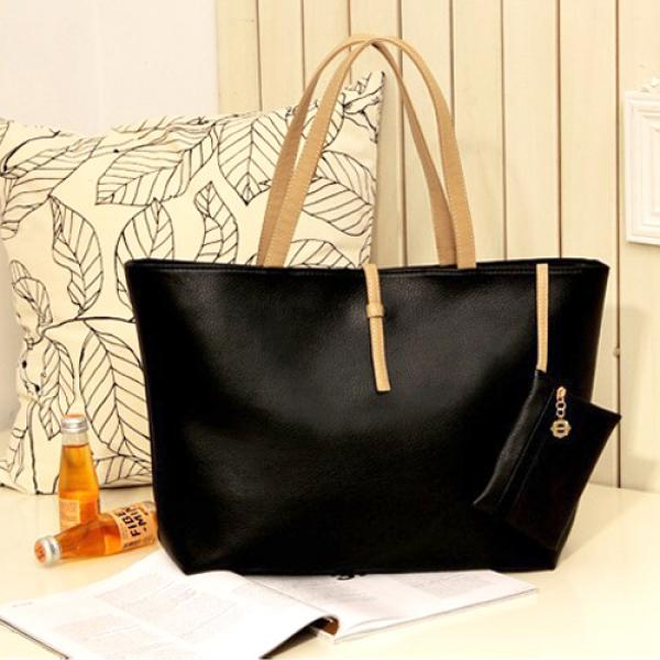 Sac femme Cabas cuir synthetique everyday Bag chic 7 couleurs