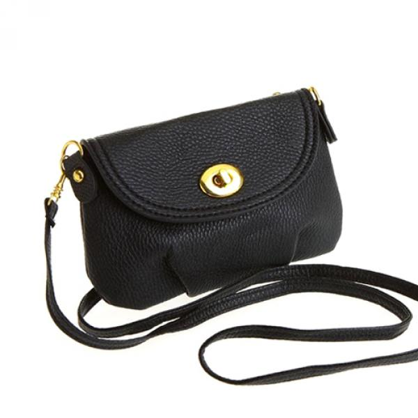 Sac femme pochette a bandouliere unie 5 coloris Day or Night