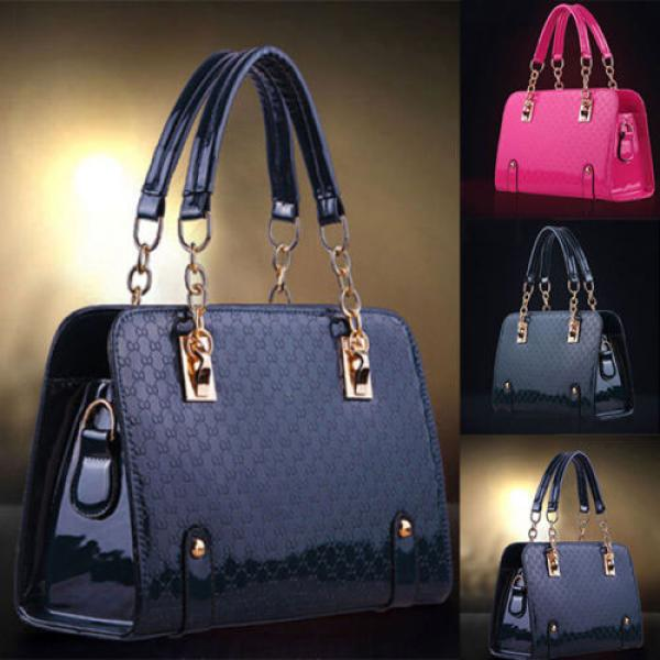 Sac A Main Femme Fashion Elegance Chic Vernis Monogramme Luxury