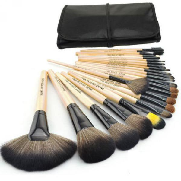 Kit 24 Pinceaux Professionnels Maquillage Yeux Visage Complet makeup etui voyage