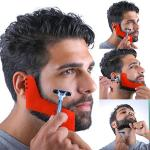 Pochoir de Faconnage barbe 2 Formes Rasage