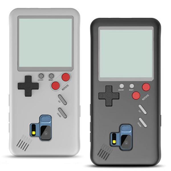 Coque Retro Game Boy Tetris Samsung Galaxy S9 et S9 plus