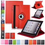 Coque iPad 2/3/4/mini1/2 Clapet Magnetique Rotatif 360 Degres Luxe design