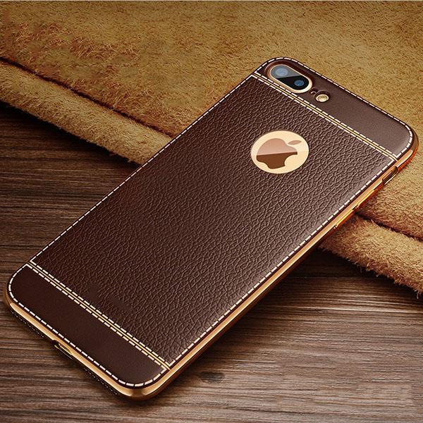 Coque Effet cuir Soft Luxe iPhone 7 7plus 6 6plus elegance