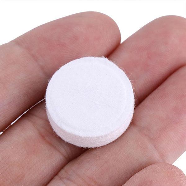 Mini serviettes lingettes comprimes pastilles Lot 100