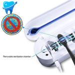 Sterilisateur de brosses a dents - Desinfections - Rayons UV Distributeur dentifrice