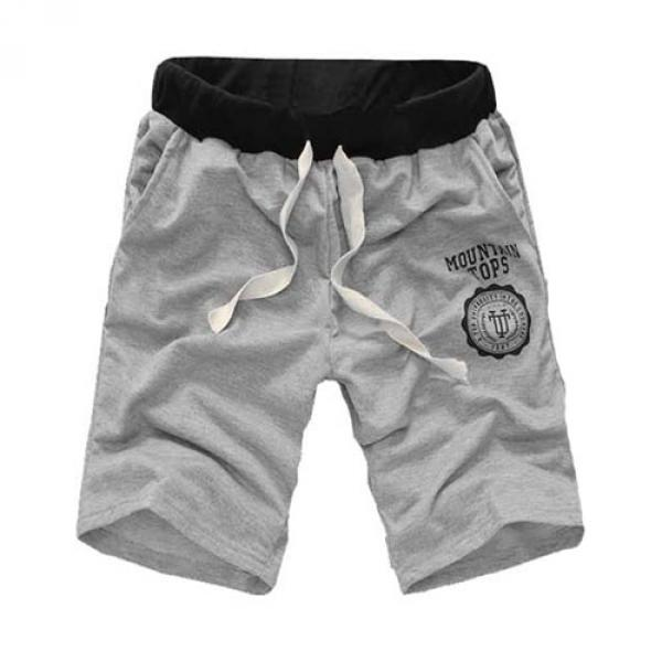 Short Homme Confort Sport Jogging Fashion Classic Men Gris