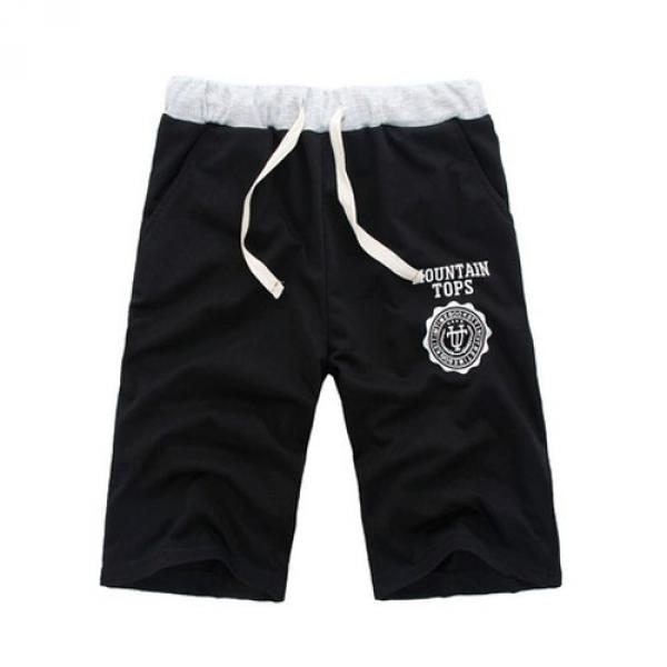 Short Homme Confort Sport Jogging Fashion Classic Men Noir