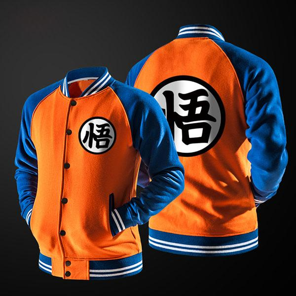 Veste Baseball Style Dragon Ball Z Collector Goku
