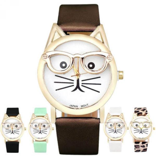 Montre Femme Chat A Lunettes Fashion Sunglasses Cat Trendy