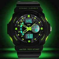 Montre Homme Sport Military Chrono Silicone Fashion 2014 Vert