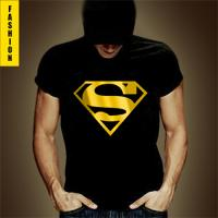 Superbe Tshirt Fashion Superman Noir