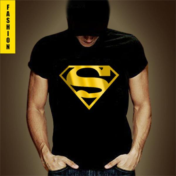 Superbe Tshirt Fashion Superman Noir