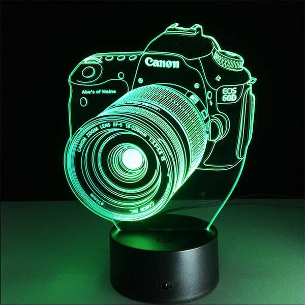 Lampe 3D Camera EOS 60d