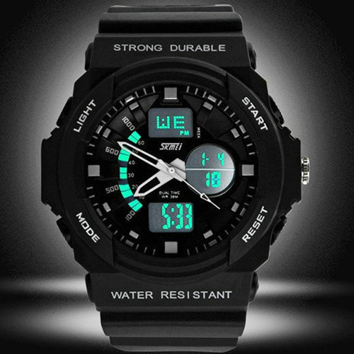 montre homme sport military chrono silicone fashion 2014. Black Bedroom Furniture Sets. Home Design Ideas